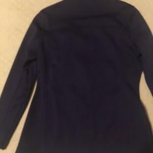 Purple running jacket